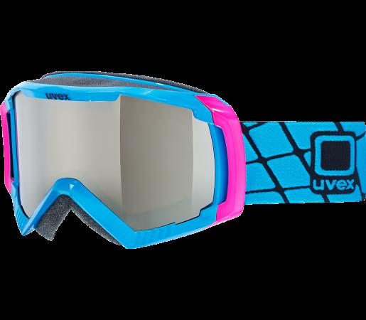 Ochelari Ski si Snowboard Uvex GGL 100 Blue- Pink
