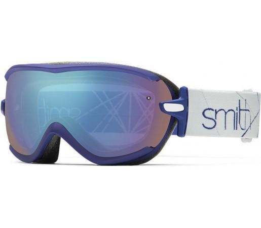 Ochelari Schi si Snowboard Smith Virtue SPH Saphire Prism / Blue Sensor mirror