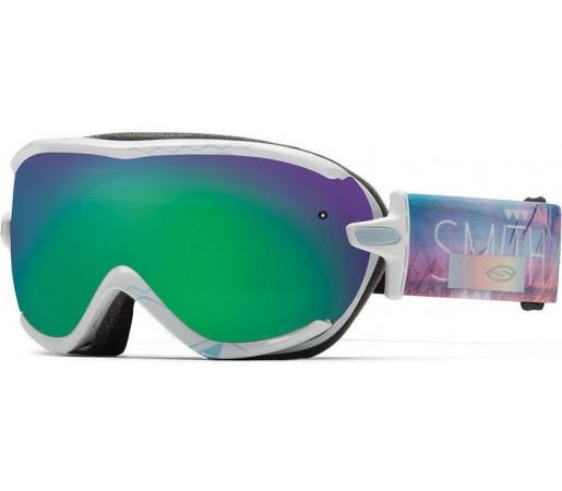 Ochelari Schi si Snowboard Smith Virtue SPH Daydreamer / Green Sol-X mirror