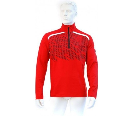 Midlayer Volkl Black Jack Zip Shirt Red