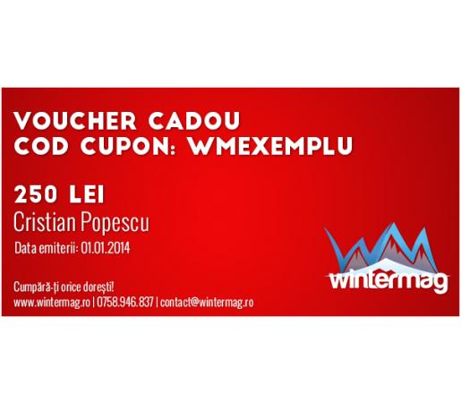 Voucher cadou Wintermag 250 lei