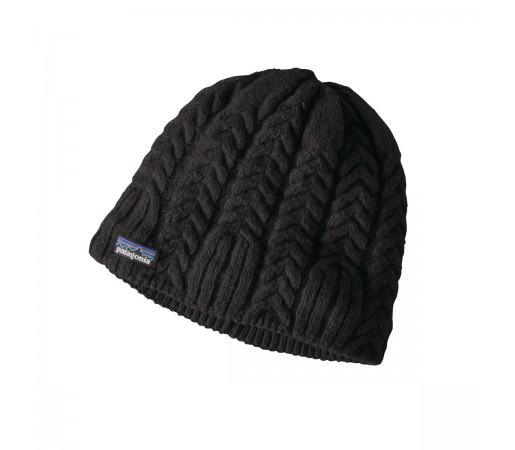 Caciula Femei Patagonia W's Cable Beanie Black (Negru)