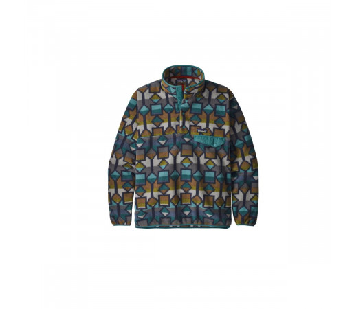 Polar Barbati Patagonia LW Synch Snap-T P/O - EU Fit New Navy  (Multicolor)