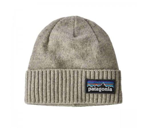 Caciula Patagonia Brodeo Beanie P-6 Logo / Drifter Grey (Gri)