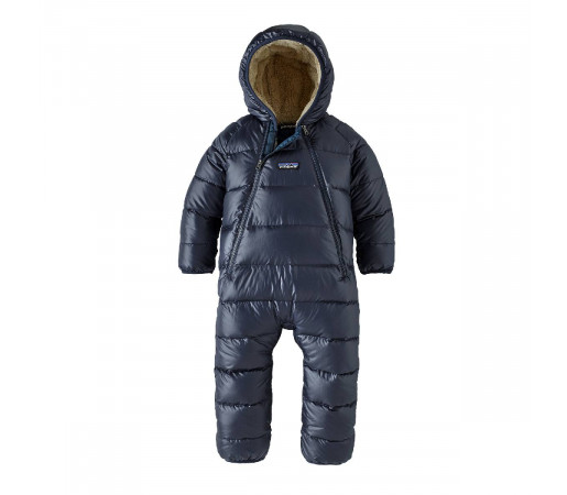 Combinezon Ski Copii 0-5 ani Patagonia Infant Hi-Loft Down Sweater Bunting New Navy (Bleumarin)