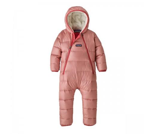 Combinezon Ski Copii 0-5 ani Patagonia Infant Hi-Loft Down Sweater Bunting Rosebud Pink (Roz)
