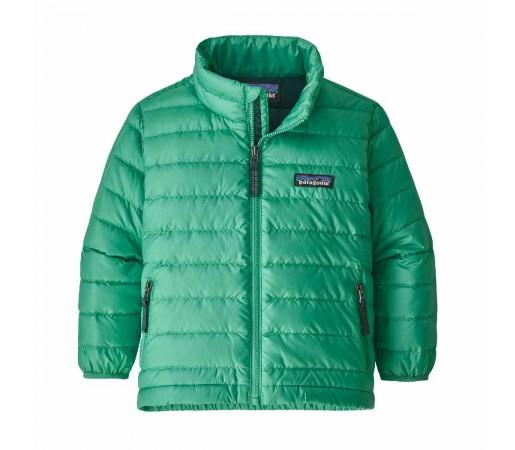 Geaca Puf Copii 0-5 ani Patagonia Baby Down Sweater Plains Green (Verde)