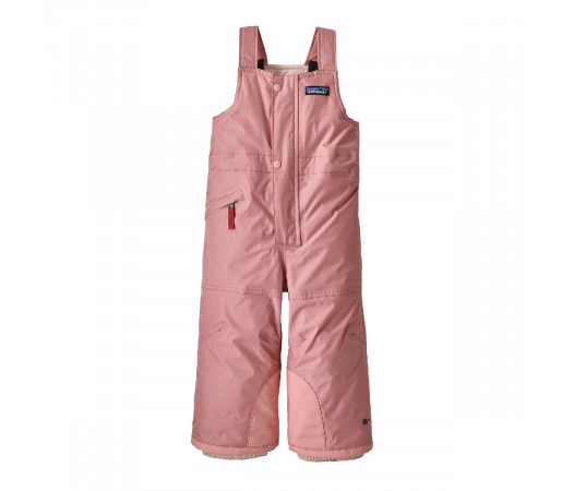 Salopeta Ski Copii 0-5 ani Patagonia Baby Snow Pile Bibs Rosebud Pink (Roz)