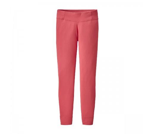 Pantaloni First Layer Copii 5-14 ani Patagonia Girls' Capilene Bottoms Range Pink (Roz)