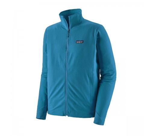 Geaca Hiking Softshell Barbati Patagonia R1 TechFace Balkan Blue  (Albastru)