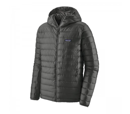 Geaca Puf Barbati Patagonia Down Sweater Hoody Forge Grey  (Gri)