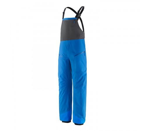Pantaloni Ski Barbati Patagonia Snowdrifter Bibs Andes Blue (Albastru)