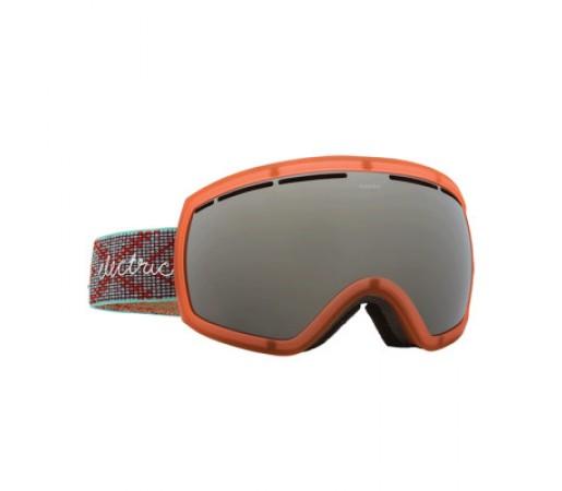 Ochelari schi si snowboard Electric EG2- W Green Weave Brose/ Silver Chrome+ Light Green