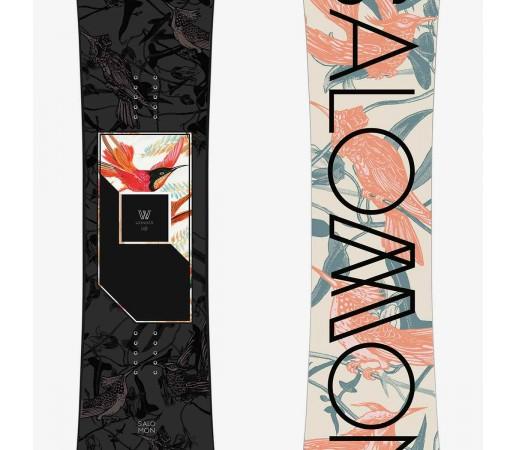 SALOMON PLACA SNOWBOARD WONDER FEMEI Negru