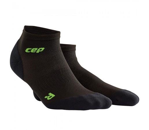 Sosete Alergare CEP Dynamic+ Run Ultralight Low-Cut W Negru / Verde