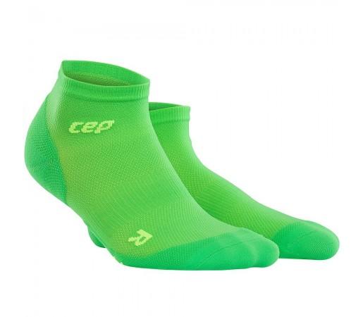 Sosete Alergare CEP Dynamic+ Run Ultralight Low-Cut M Verde / Verde