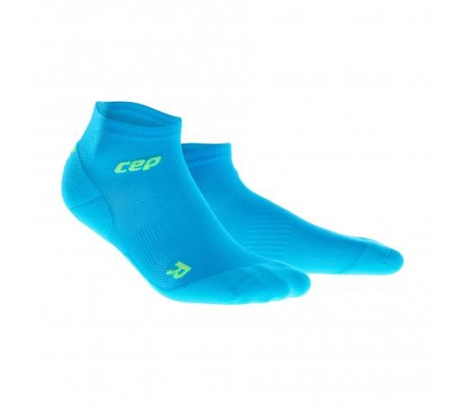 Sosete Alergare CEP Dynamic+ Run Ultralight Low-Cut M Bleu / Verde