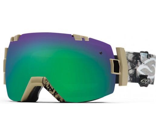 Ochelari Schi si Snowboard Smith I/OX Xavier Voodoo/Green Sol-X mirror