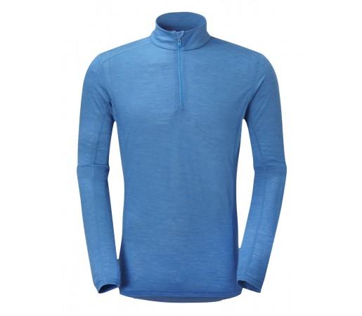 Bluza First-Layer Montane Primino Zip 140g M Albastru
