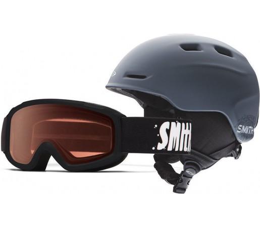 Casca Schi si Snowboard Smith Zoom JR / Sidekick Black