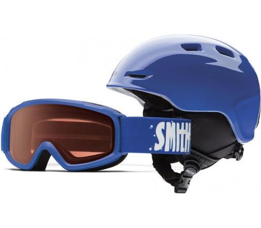 Casca Schi si Snowboard Smith Zoom JR / Sidekick Cobalt