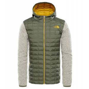 Geaca Barbati Hiking The North Face Thermoball Hybrid Gordon Lyons Hoodie Verde
