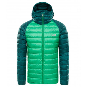 Geaca Barbati Hiking The North Face Trevail Hoodie Verde