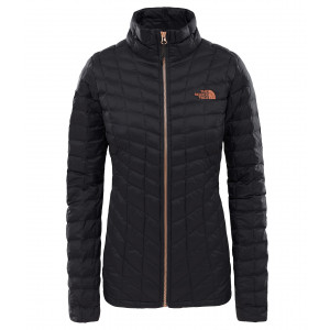 Geaca Femei Hiking The North Face Thermoball Full Zip Negru
