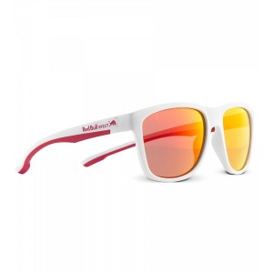 Ochelari De Soare Red Bull SPECT Sunglasses BUBBLE-004 White / White / Red