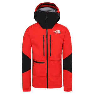 Geaca Drumetie Barbati The North Face Summit L5 Vapor Jkt Fiery Red/Tnf Black (Rosu)