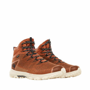Ghete Drumetie Barbati The North Face Ultra Fastpack Iii Mid Gtx Woven Caramel Cafe/Tnf Black (Maro)