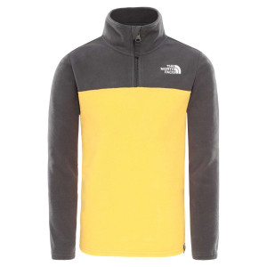Polar Copii The North Face Youth Glacier 1/4 Zip Tnf Yellow (Galben)