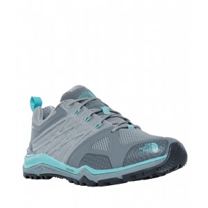 Incaltaminte hiking The North Face Ultra Fastpack II GTX W Gri/Turquoise