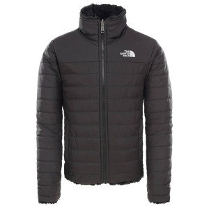 Geaca Drumetie Copii The North Face Girl'S Reversible Mossbud Swirl Jkt Tnf Black (Negru)