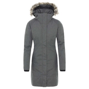 Geaca Femei The North Face Arctic Parka Ii Tnf Medium Grey (Gri)
