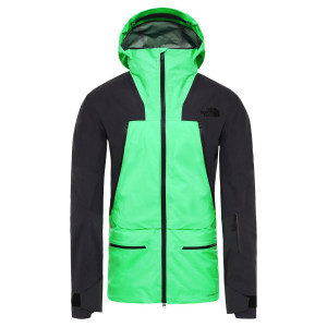 Geaca Ski Barbati The North Face Purist Jkt Chlorophyll Green/Weathered Black (Verde)