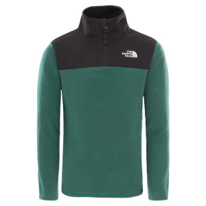 Polar Copii The North Face Youth Glacier 1/4 Zip Night Green (Verde)