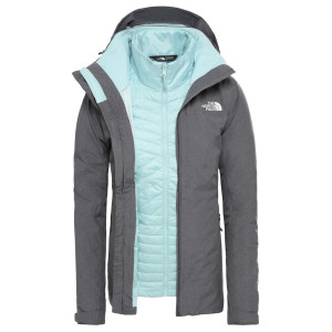 Geaca Drumetie Femei The North Face Inlux Triclimate - Vanadis Grey He (Gri)