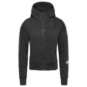 Hanorac Femei The North Face Light Full Zip Fleece Hoodie Tnf Black (Negru)