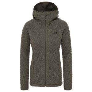 Hanorac Femei The North Face Inlux Tech Midlayer New Taupe Green (Kaki)