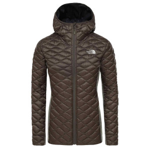 Geaca Drumetie Femei The North Face Inlux Wool Hybrid New Taupe Green (Kaki)