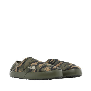 Papuci Femei The North Face Thermoball Traction Mule V New Taupe Green/Burnt Olive Green (Camuflaj)