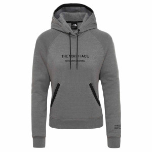Hanorac Femei The North Face Graphic Pullover Hoodie Tnf Medium Grey (Gri)