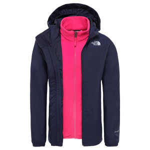 Geaca Drumetie Copii The North Face Girl'S Eliana Triclimate Jkt Montague Blue (Bleumarin)