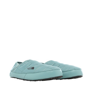 Papuci Femei The North Face Thermoball Traction Mule V Trellis Green/Tnf Black (Turcoaz)