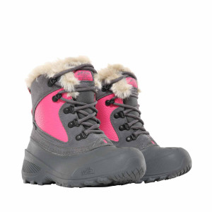 Ghete Copii The North Face Youth Shellista Extrem Zinc Grey/Mr.Pink (Gri)