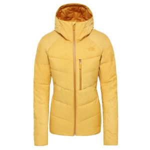 Geaca Puf Ski Femei The North Face Heavenly Down Jkt Golden Spice (Galben)