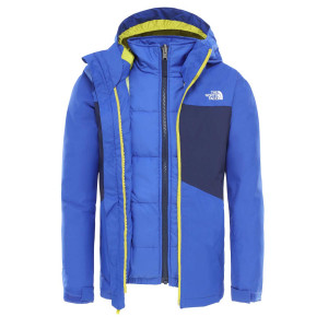 Geaca Ski Copii The North Face Boy'S Clement Triclimate Tnf Blue (Albastru)