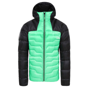 Geaca Puf Drumetie Barbati The North Face Impendor Down Hoodie Chlorophyll Green (Verde)