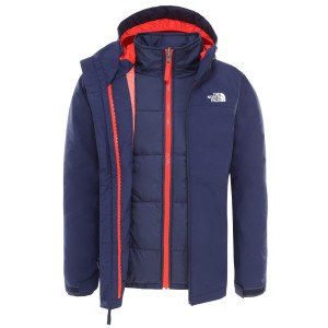 Geaca Ski Copii The North Face Boy'S Clement Triclimate Montague Blue (Bleumarin)